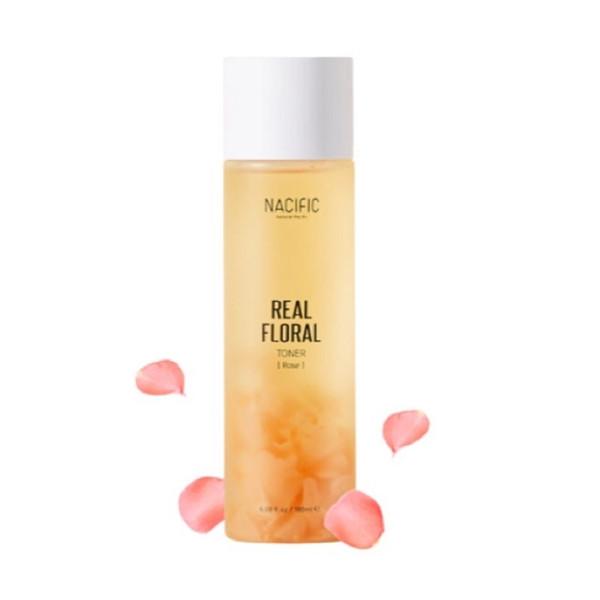 Nước cân bằng dưỡng trắng da hoa hồng Nacific 180ml