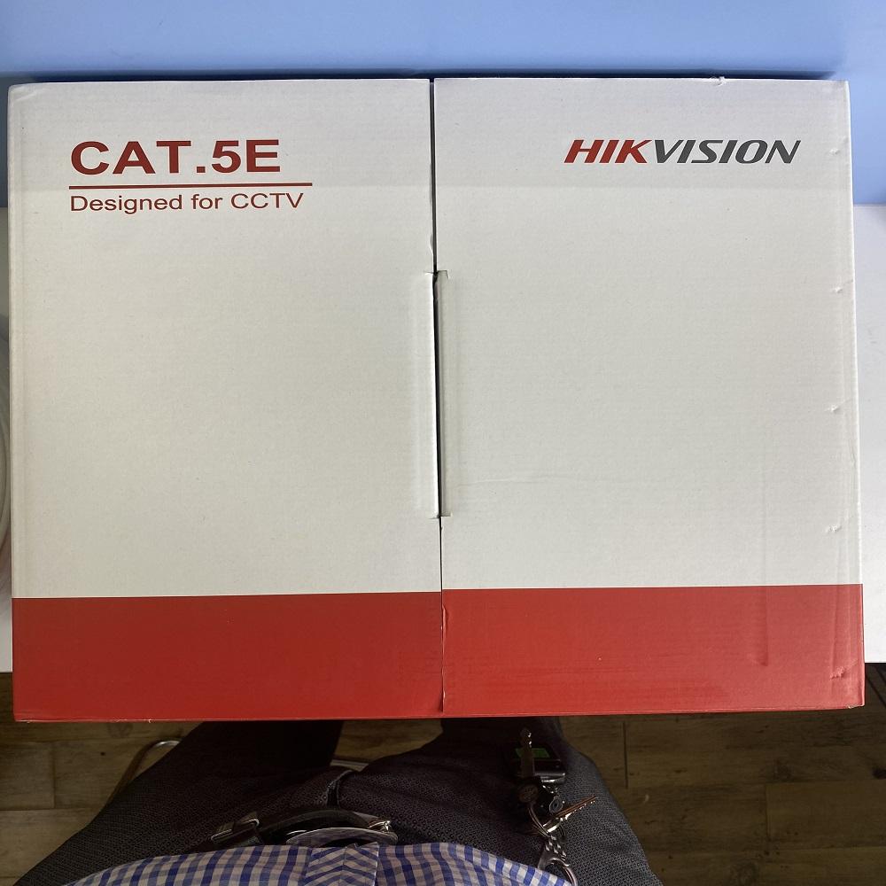 CÁP MẠNG HIKVISION UTP CAT 5E , đồng nguyên chất (305m)- Hàng Chính Hãng