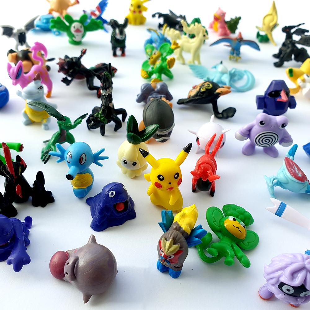 Đồ chơi 72 Pokemon dễ thương cho bé trên 3 tuổi không trùng nhau, chất liệu nhựa PVC đặc sơn màu đẹp, mô phỏng nhân vật phim hoạt hình Poke'mon Mega (mẫu ngẫu nhiên)
