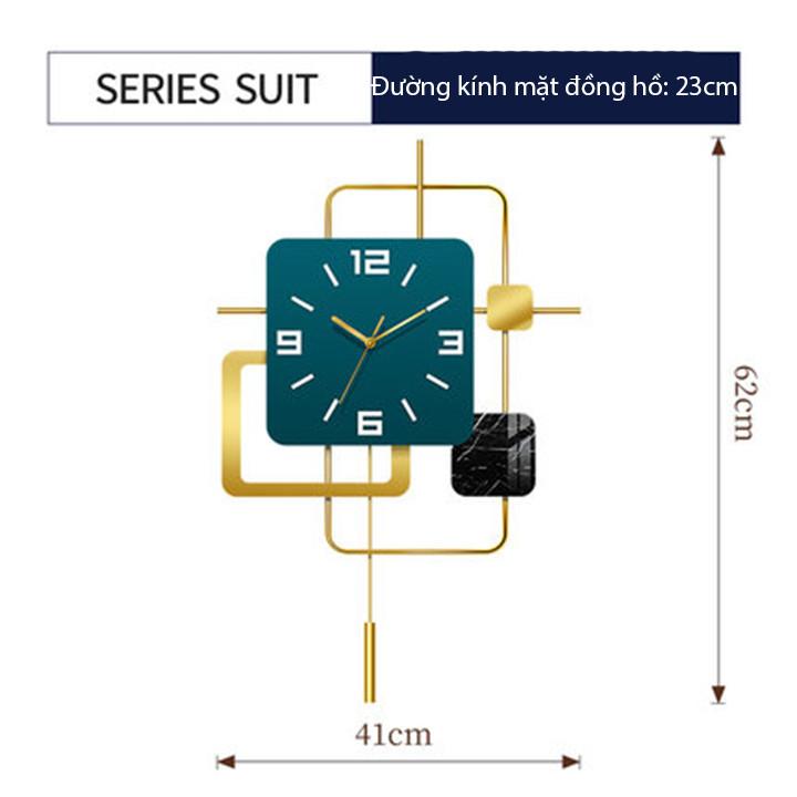 Đồng hồ phù điêu treo tường (kt 62 x 41cm) - Đồng hồ treo tường hiện đại