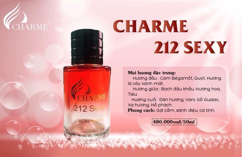 Nước Hoa Nam Charme 212 Sexy (50ml)