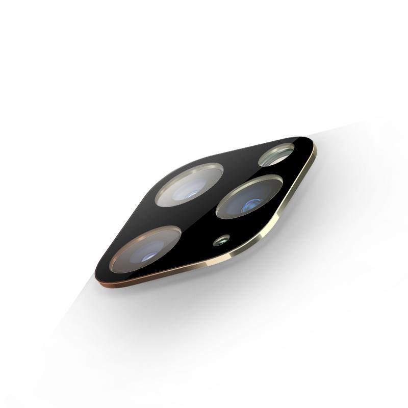 Bộ Khung Bảo Vệ Hợp Kim Gắn Liền Với Kính Cường Lực Camera Iphone 11 Pro / 11 Pro Max- Handtown- Hàng Chính Hãng