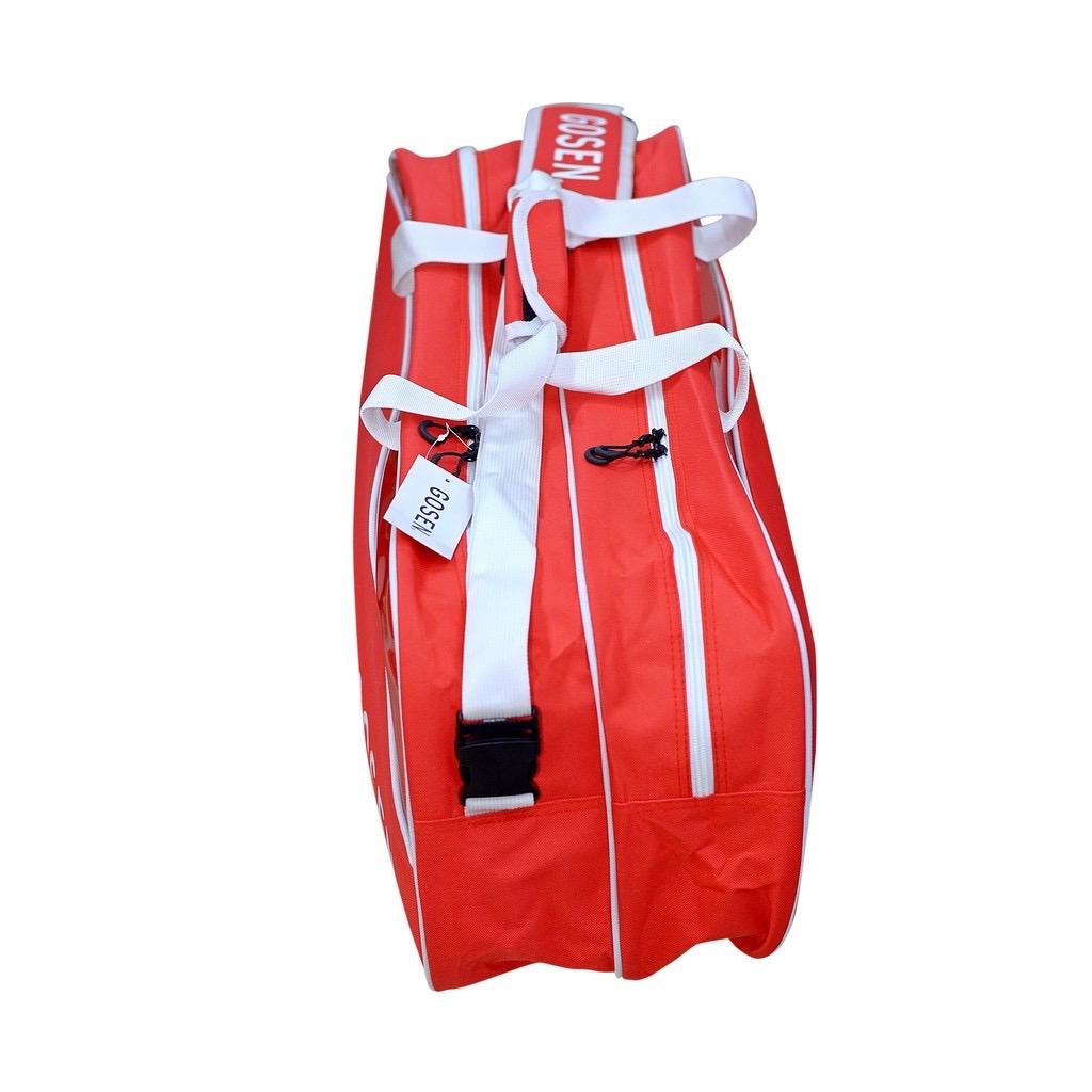 Túi vợt cầu lông/tennis  2 ngăn 3 màu sắc 3 phiên bản  -Giao màu ngẫu nhiên
