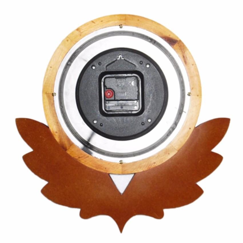 Đồng hồ gỗ treo tường  F01