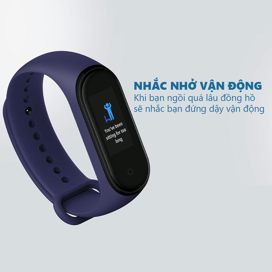 Đồng hồ thông minh xiaomi mi band 4 có hướng dẫn tiếng việt - hàng nhập khẩu