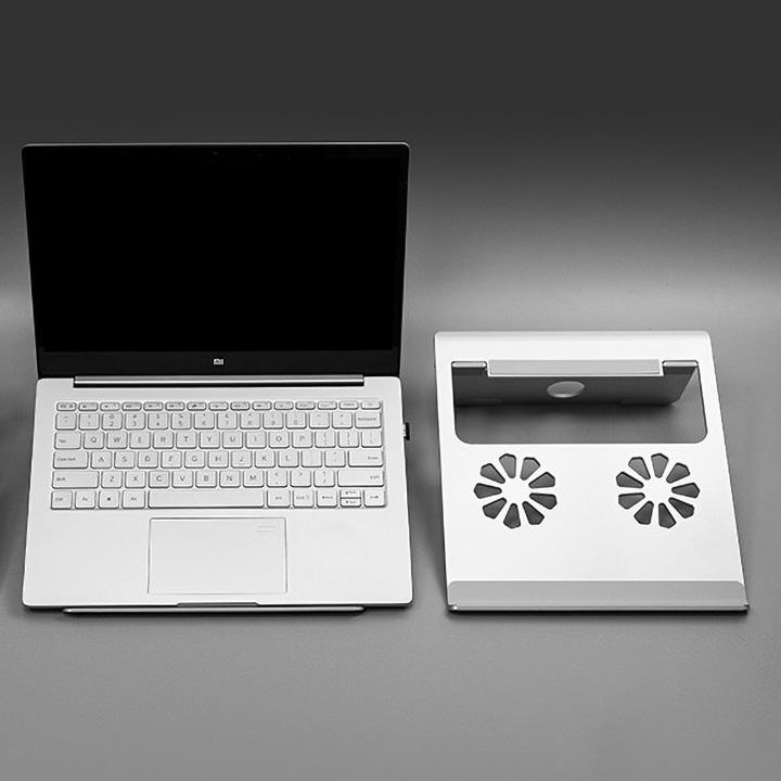 Đế tản nhiệt nhôm cho MacBook, laptop