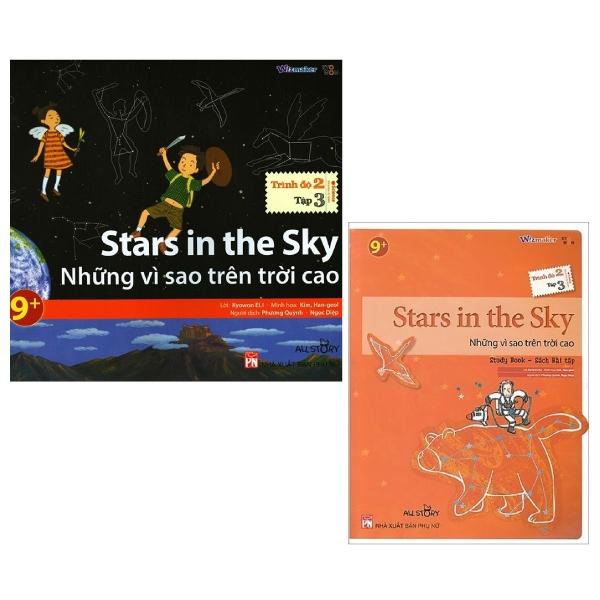 Combo All Story - Stars In The Sky - Những Vì Sao Trên Trời Cao (Trình Độ 2 - Tập 3) (Bộ 2 Cuốn)