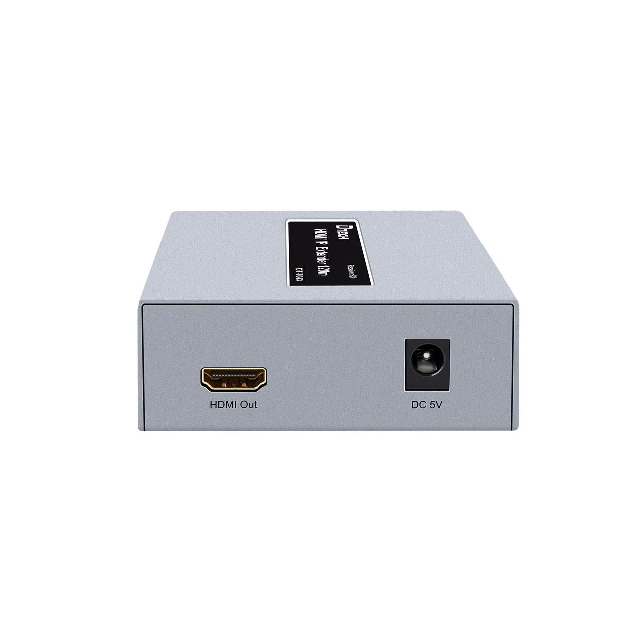 Bộ kéo dài HDMI 120M qua cáp mạng DTECH DT-7043 - Hàng Chính Hãng