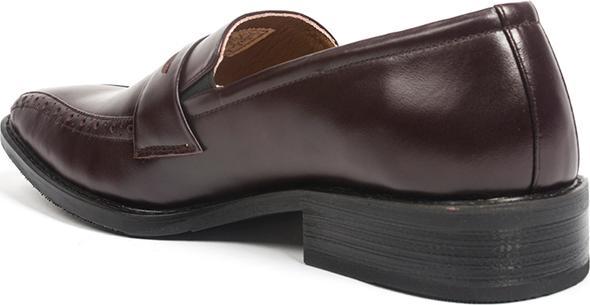 Giày Tây Da Nam Pierre Cardin Brown Penny Loafer Cement - PCMFWLB046