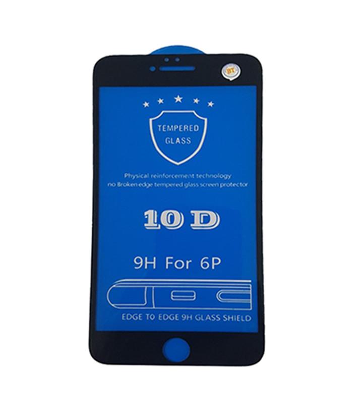 Miếng Dán Cường Lực  10D Full Màn Hình Cho iPhone 6 Plus / 6s Plus - Đen