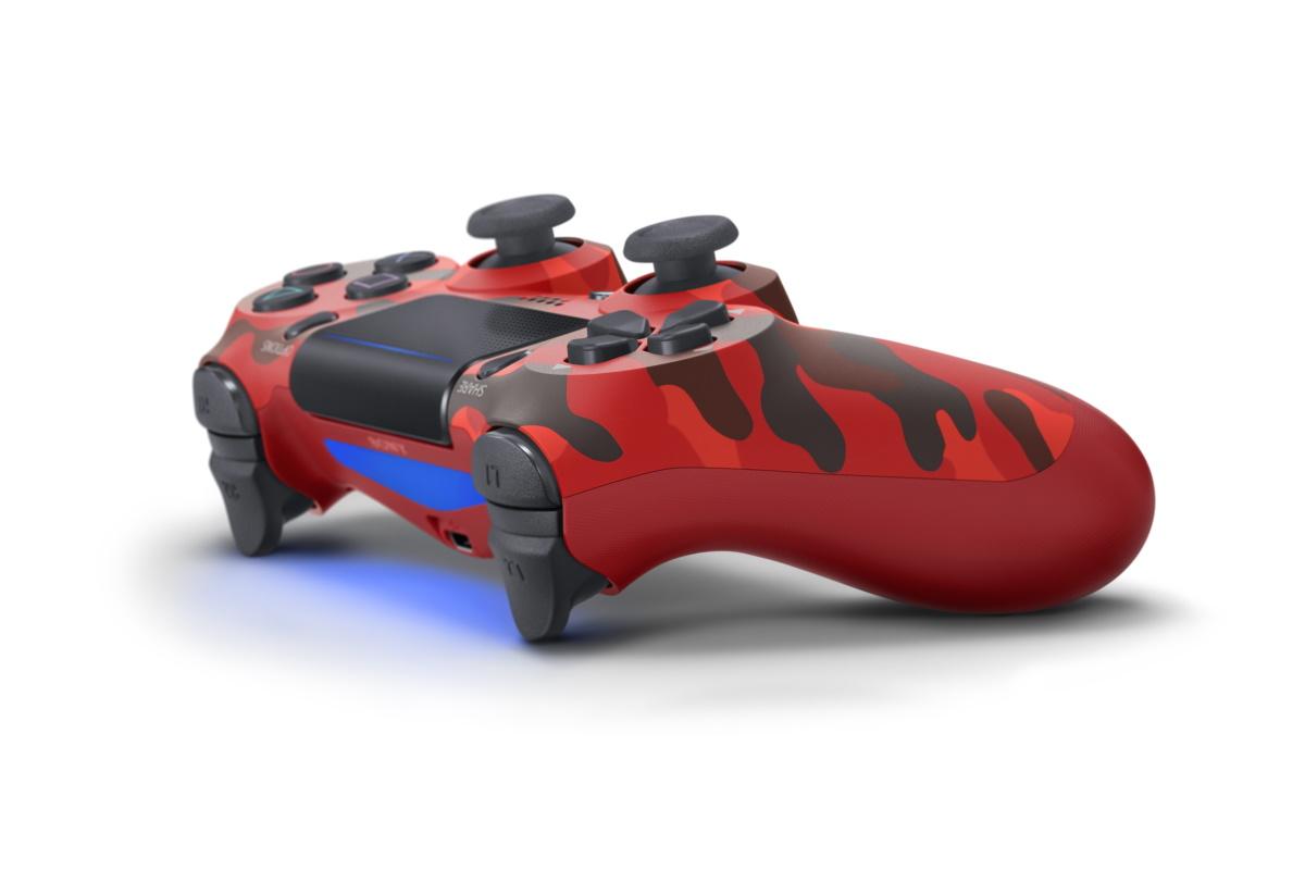 Tay Cầm Playstations 4 Red Camouflage Limited Edition-Hàng nhập khẩu