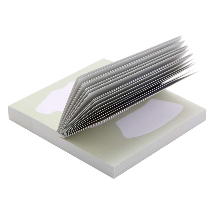 Giấy Note Vuông - Kèm Bút Bubu BLTP-0054 - Hình Bộ Quần Áo