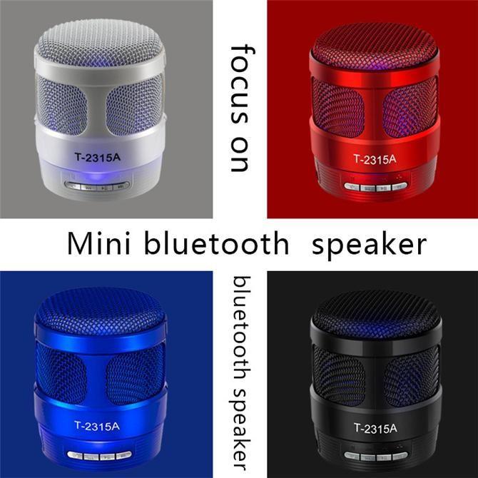 LOA BLUETOOTH MINI T-2315A LED CỰC ĐẸP (GIAO MÀU NGẪU NHIÊN)