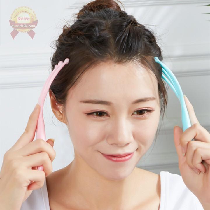 Con lăn mát xa toàn thân đầu cổ vai gáy giảm nhức mỏi căng cơ Dụng cụ massage trị liệu mini