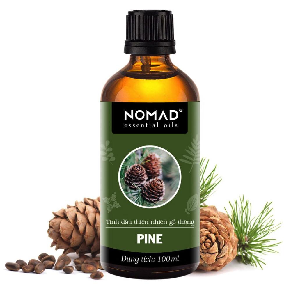 Tinh Dầu Thiên Nhiên Hương Gỗ Thông Nomad Essential Oils Pine 10ml