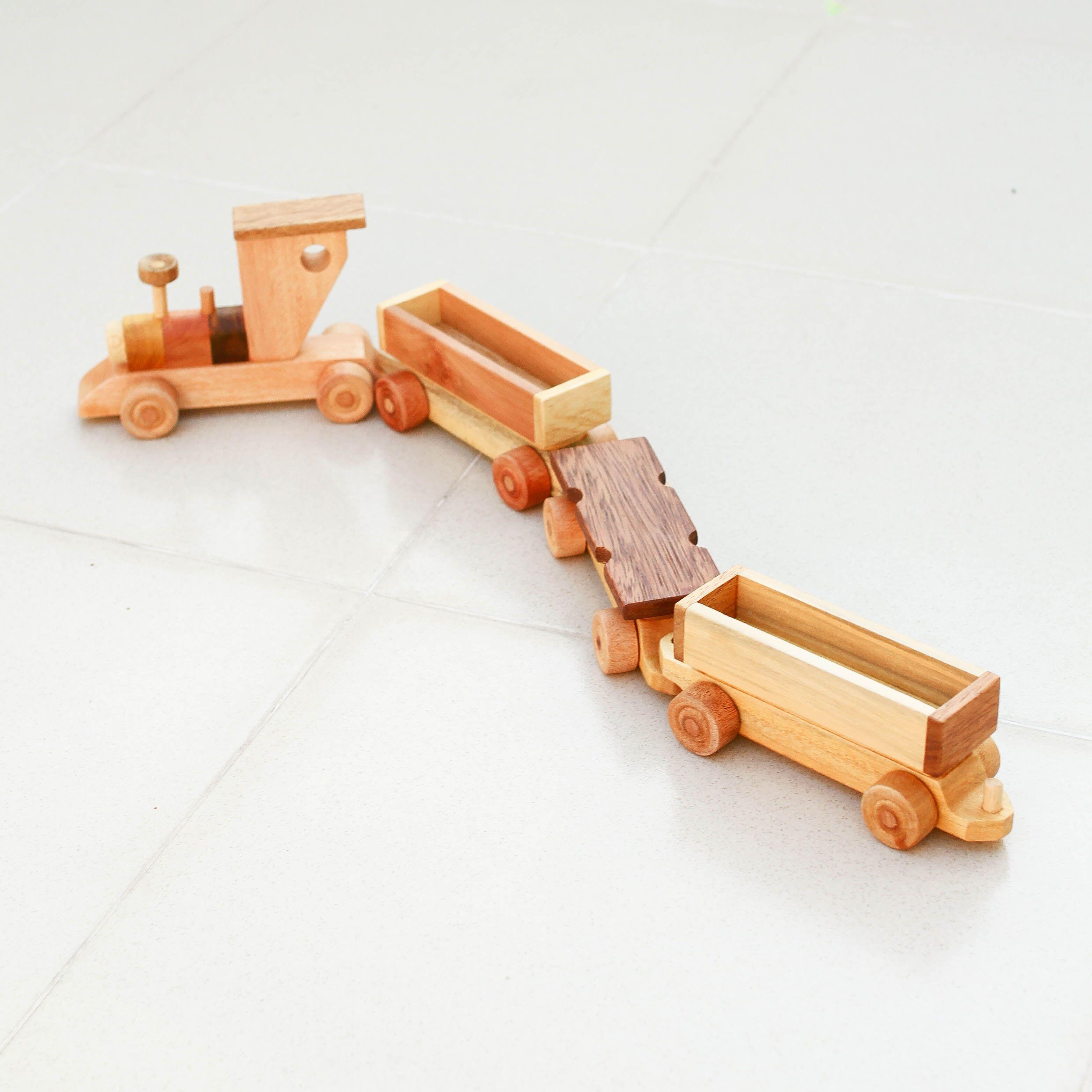 Mô hình Đoàn tàu gỗ cho bé
