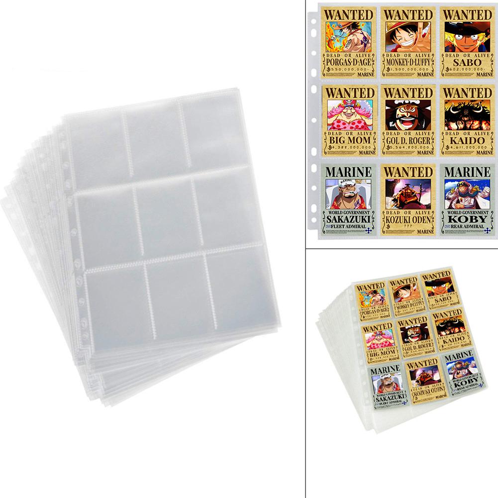 Combo 10 Sheet đựng thẻ bài 9 ngăn 6.3 cm x 9 cm
