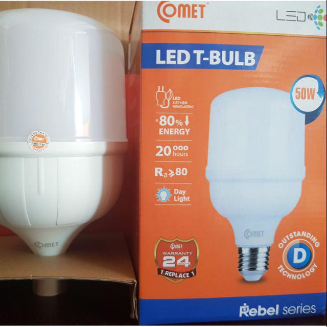 Bộ 2 bóng Comet Led Bulb Rebel 50W CB03R050