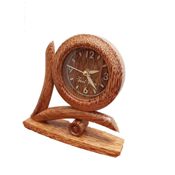 Đồng hồ gỗ dừa