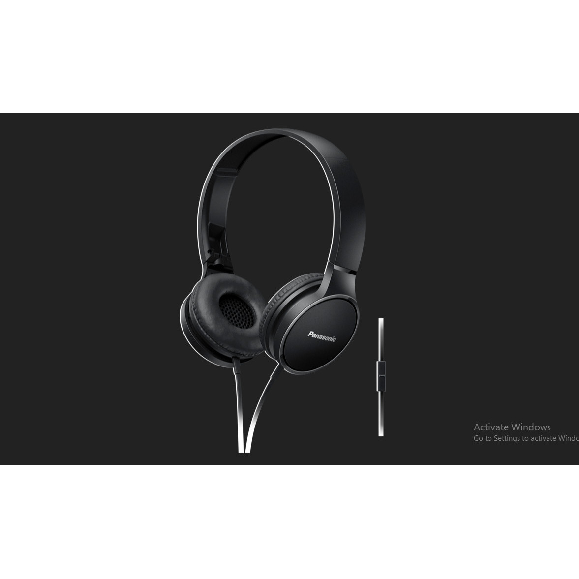 Tai nghe chụp tai Panasonic RP-HF300ME - Hàng chính hãng