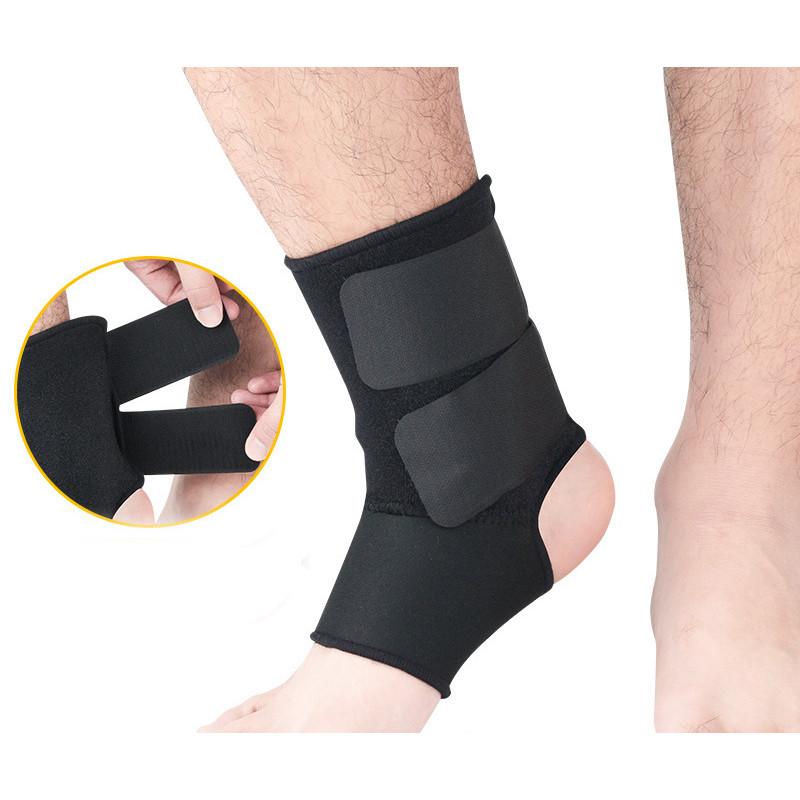 Bó cổ chân có đai thể thao bảo vệ gót mắt cá co giãn tránh chấn thương H010