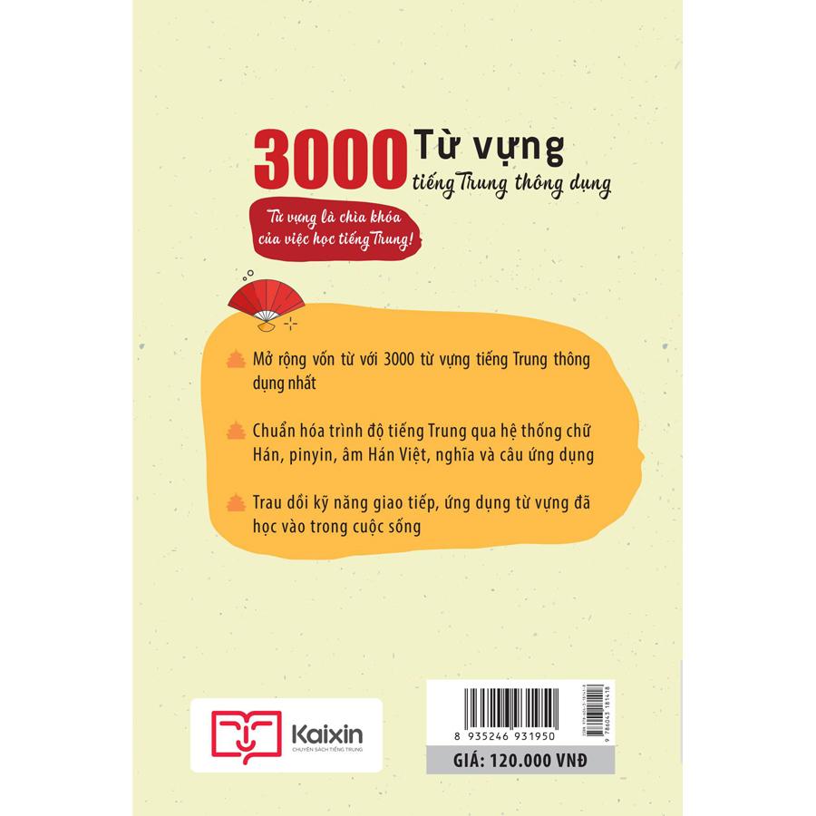 3000 Từ Vựng Tiếng Trung Thông Dụng