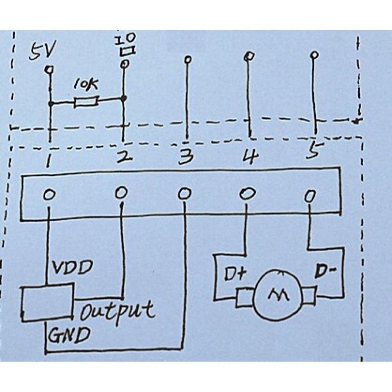 Động cơ giảm tốc kèm encoder 12V 64RPM - làm xe cân bằng