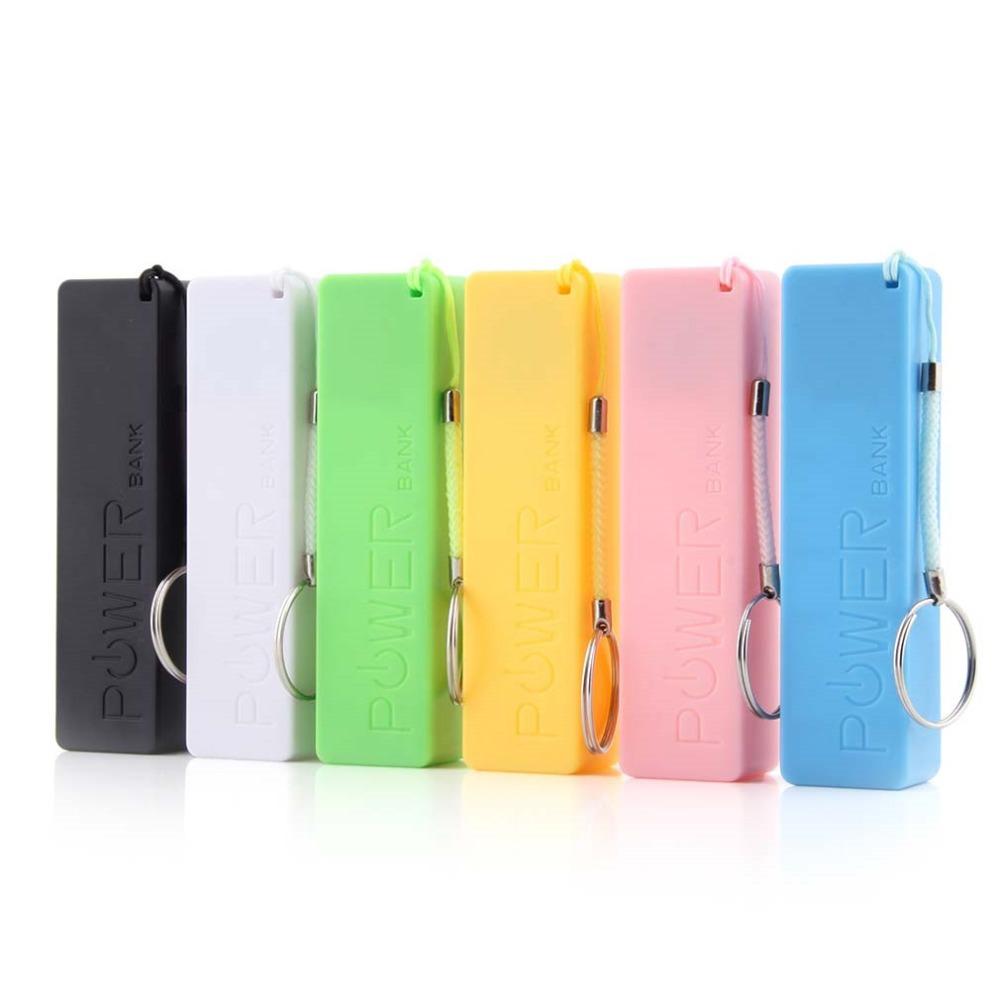 Pin dự phòng mini 2600 Mah tặng quạt USB (màu sắc giao ngẫu nhiên)