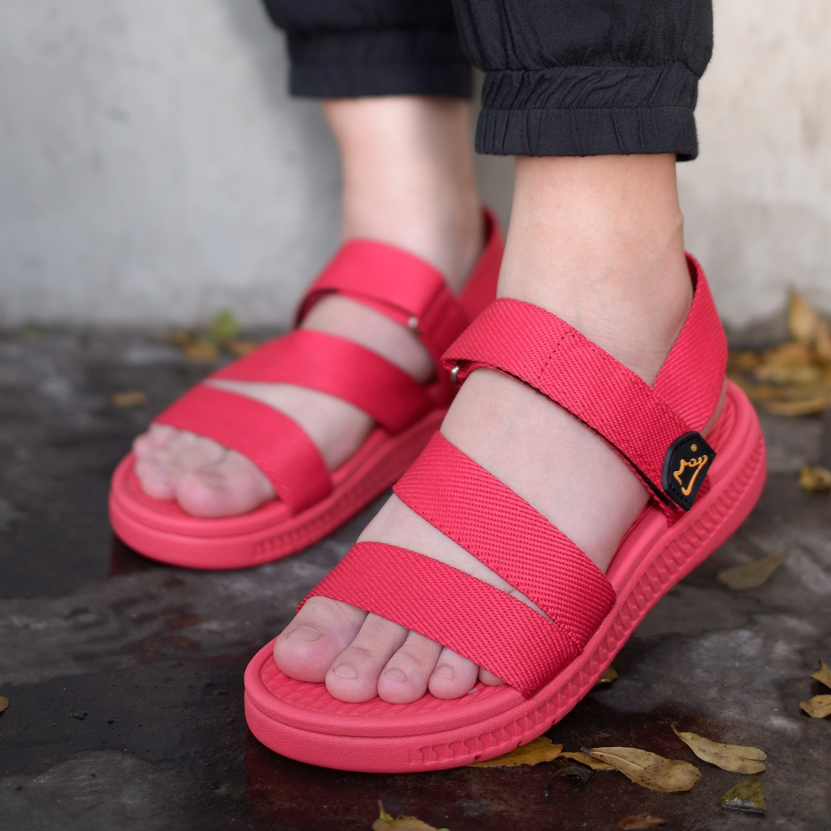 Giày xăng đan nữ công nghệ siêu nhẹ hiệu MOL thích hợp mang đi học MS2R