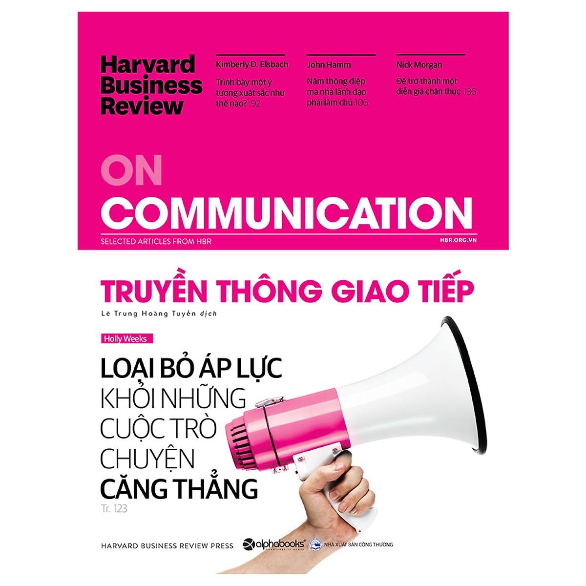 HBR On Communication - Truyền Thông Giao Tiếp Tặng BookMark Romantic