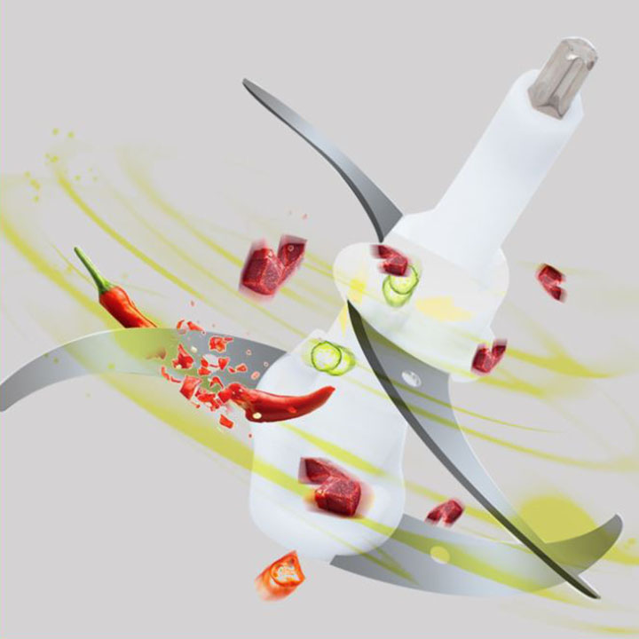 Lưỡi dao kép thông minh cho máy xay thịt 3L có chiều dài trục dao ≈13.5cm