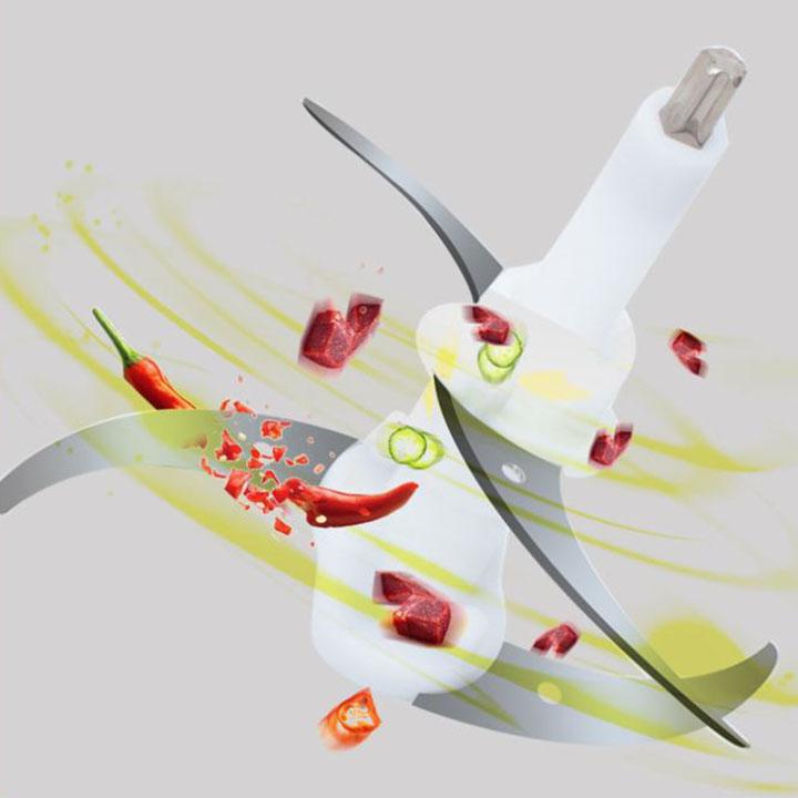Lưỡi dao kép dùng cho máy xay thịt đa năng-Hàng Chính Hãng