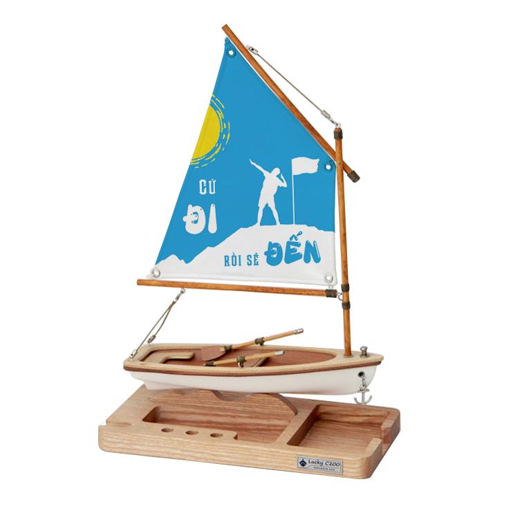 Mô hình Thuyền Lucky C200 A006.T4