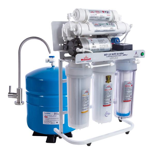 Máy lọc nước R.O Robot 8 cấp Alpha 138 (Loại để gầm) - Hàng chính hãng