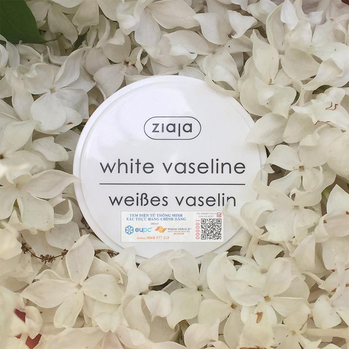 Ziaja White Vaseline 30ml - Sáp Vaseline Dưỡng Tái Tạo Da