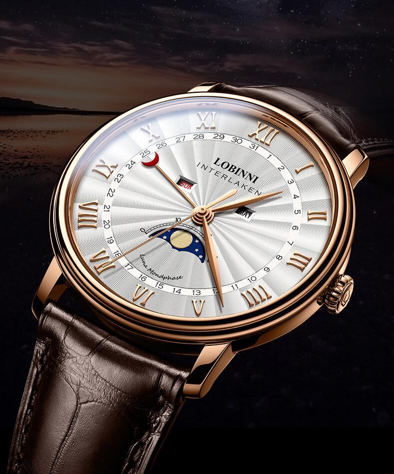 Đồng hồ nam chính hãng Lobinni No.3603