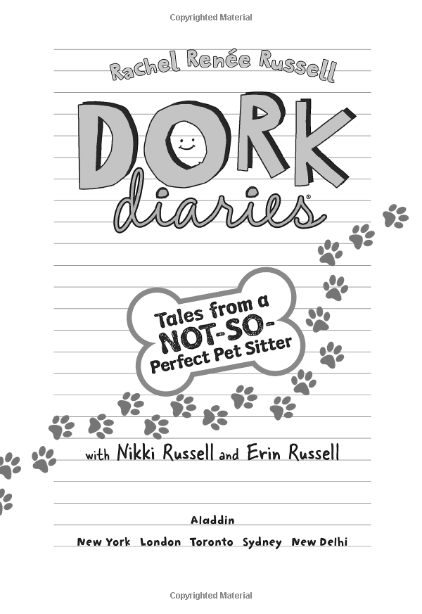 Dork Diaries 10 : Tales from a Not-So-Perfect Pet Sitter (Hardcover)