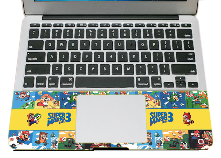 Mẫu Dán Trang Trí Mặt Ngoài + Lót Tay Laptop Nghệ Thuật LTHH - 630