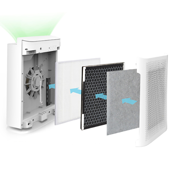Máy Lọc Không Khí Thông Minh Kết Nối Wifi FujiE AP600 (20 - 30 m2) - Hàng Chính Hãng