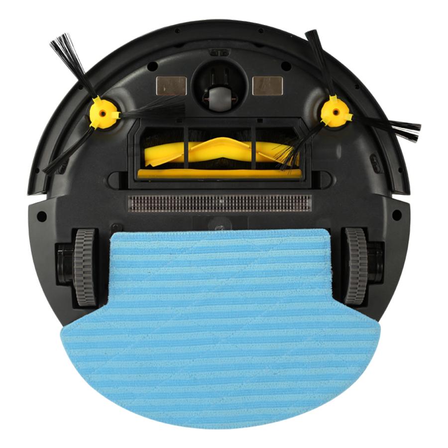 Robot Hút Bụi Lau Nhà Thông Minh Robotek W600 Wifi - Xám   - Hàng Chính Hãng