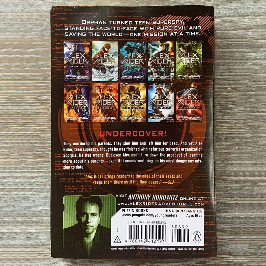 Alex Rider : Snakehead (Book 7 of 12 Alex Rider Series)