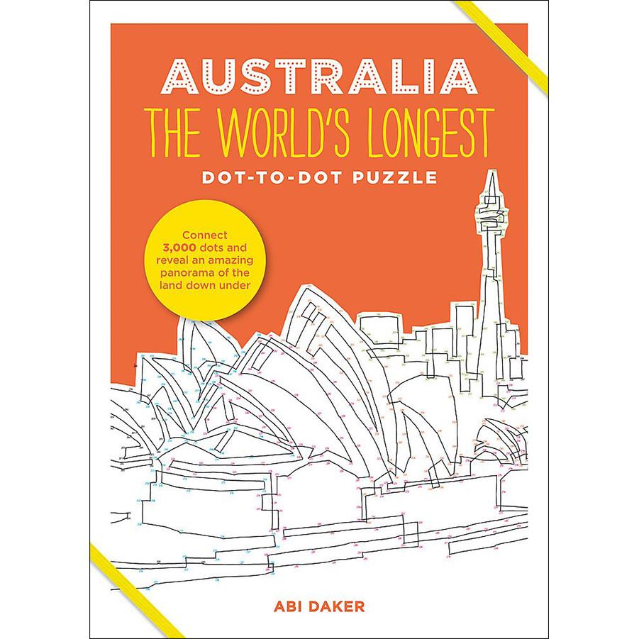 Australia the World's Longest Dot-To-Dot Puzzle