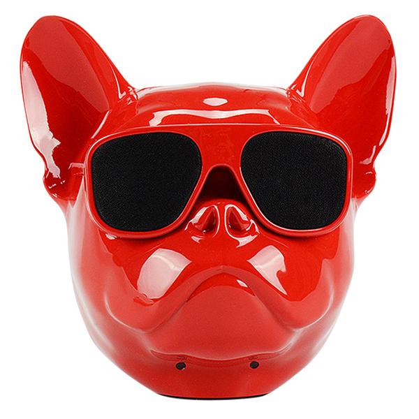 Loa Bluetooth Không Dây Mini Hình Đầu Chó Bull