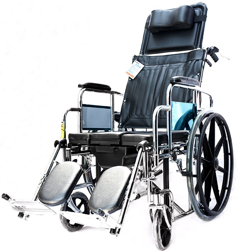 Xe lăn đa năng có bô vệ sinh, ngả, phanh tay LUCASS X7