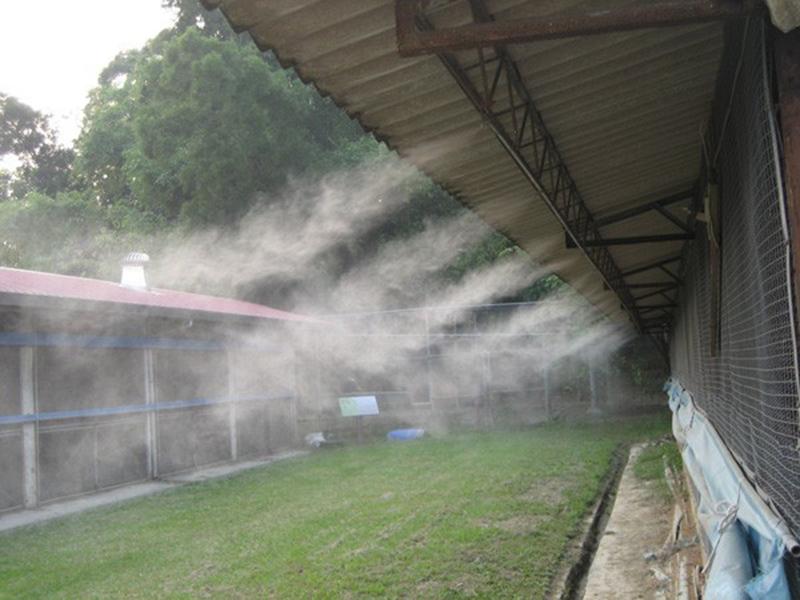 Bộ Máy Phun Sương Làm Mát Không Khí- 8 Béc Đồng