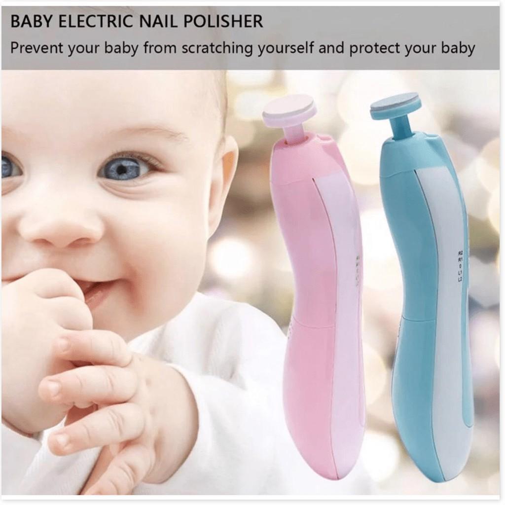 Máy làm móng tự động êm ái cho trẻ sơ sinh