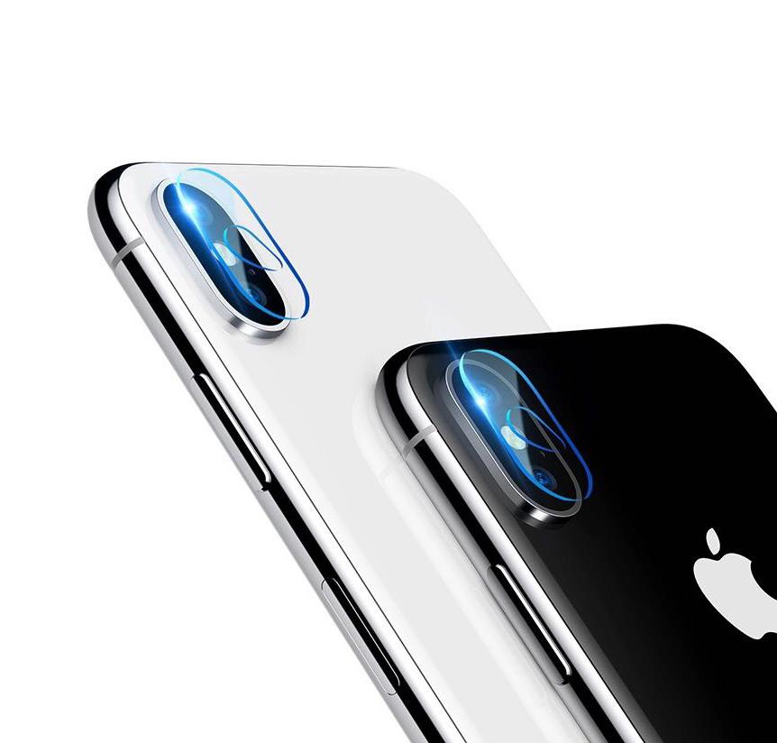 Miếng dán cường lực camera iPhone X/XS/XS Max độ cứng 9h - Hàng Chính Hãng