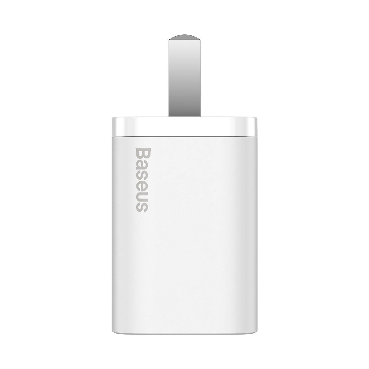 Sạc nhanh 20W cho iPhone và điện thoại Android - Baseus Super Si Quick Charger - Hàng chính hãng