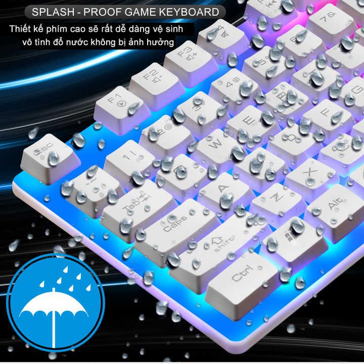 Bàn phím FRIWOL W1 chuyên Game Led 7 màu - Hàng nhập khẩu