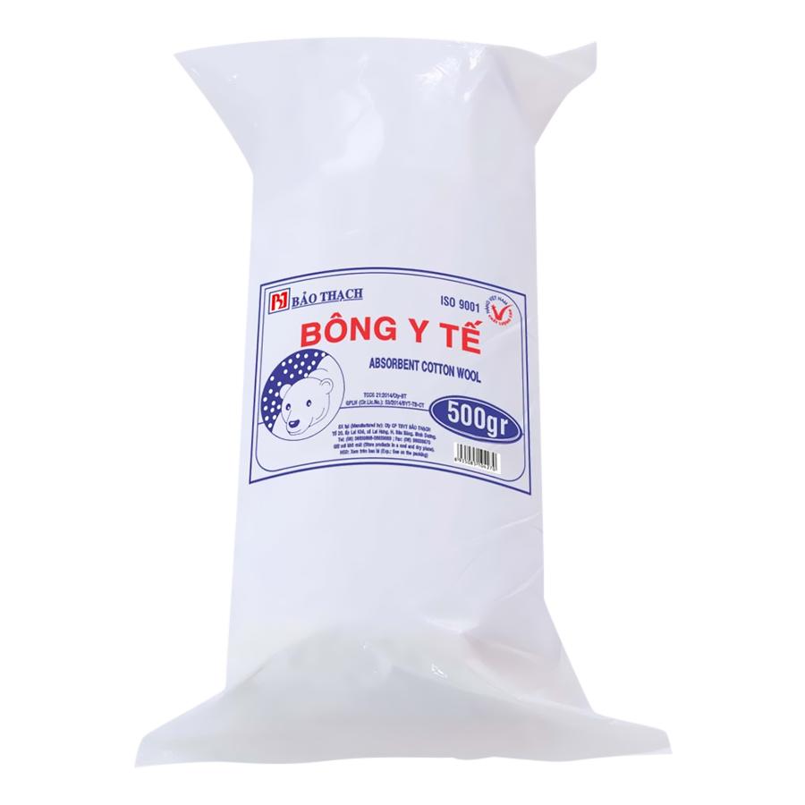Bông Gòn Y Tế Bảo Thạch Thấm Nước 500g